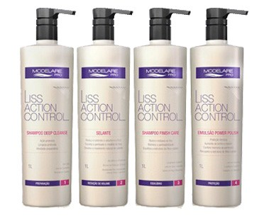 Linha Liss Action Control - Modelare Pro